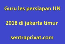 les privat persiapan un 2018 di jakarta timur